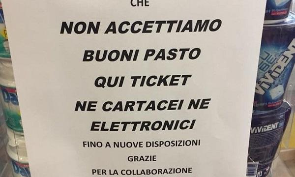 Buoni pasto non ritirati, Todisco: 'La Regione annulli il contratto'