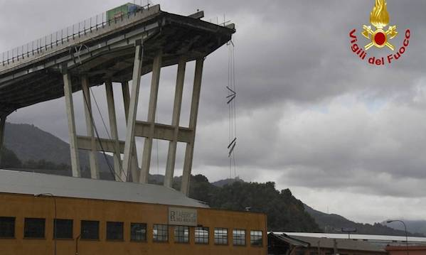 Todisco: 'Serve una banca dati in Campania sullo stato di ponti e infrastrutture'