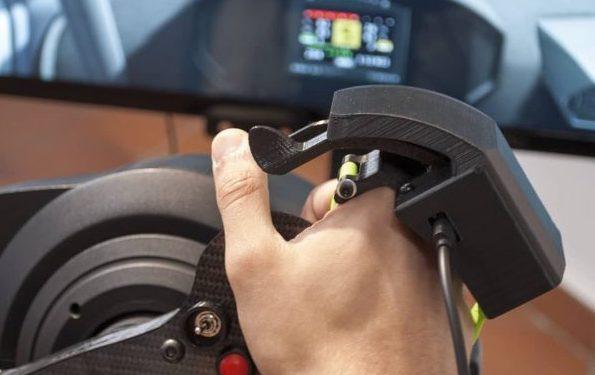 Da 3DRap, l'hand controller per simracers disabili