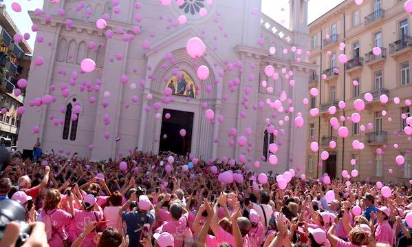 La camminata rosa d'Irpinia, 6000 per l'inno alla vita