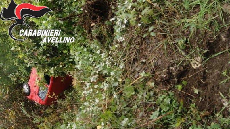 Montemarano: giù dalla scarpata, automobilista in ospedale