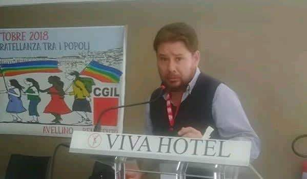 Flai Cgil Avellino-Benevento, Valle nuovo segretario