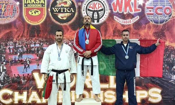 Mondiali di Karate, Carabinieri di Grotta sul podio con Davide Pinto