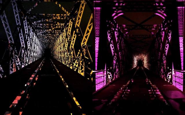 Ponte Principeilluminato, fermata a Lapio
