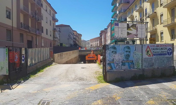 Sottopasso Piazza Libertà, il Provveditorato Opere pubbliche sblocca il cantiere