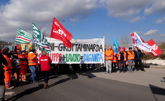 Dal Sele all'Ufita, la marcia per la Lioni-Grottaminarda