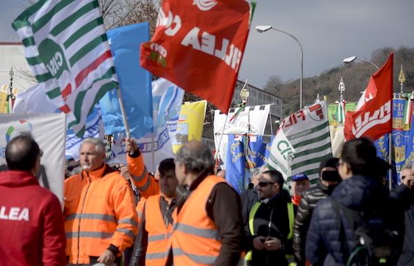 Sciopero Edilizia, la Cisl: 'In Irpinia l'emergenza si chiama Lioni-Grotta'