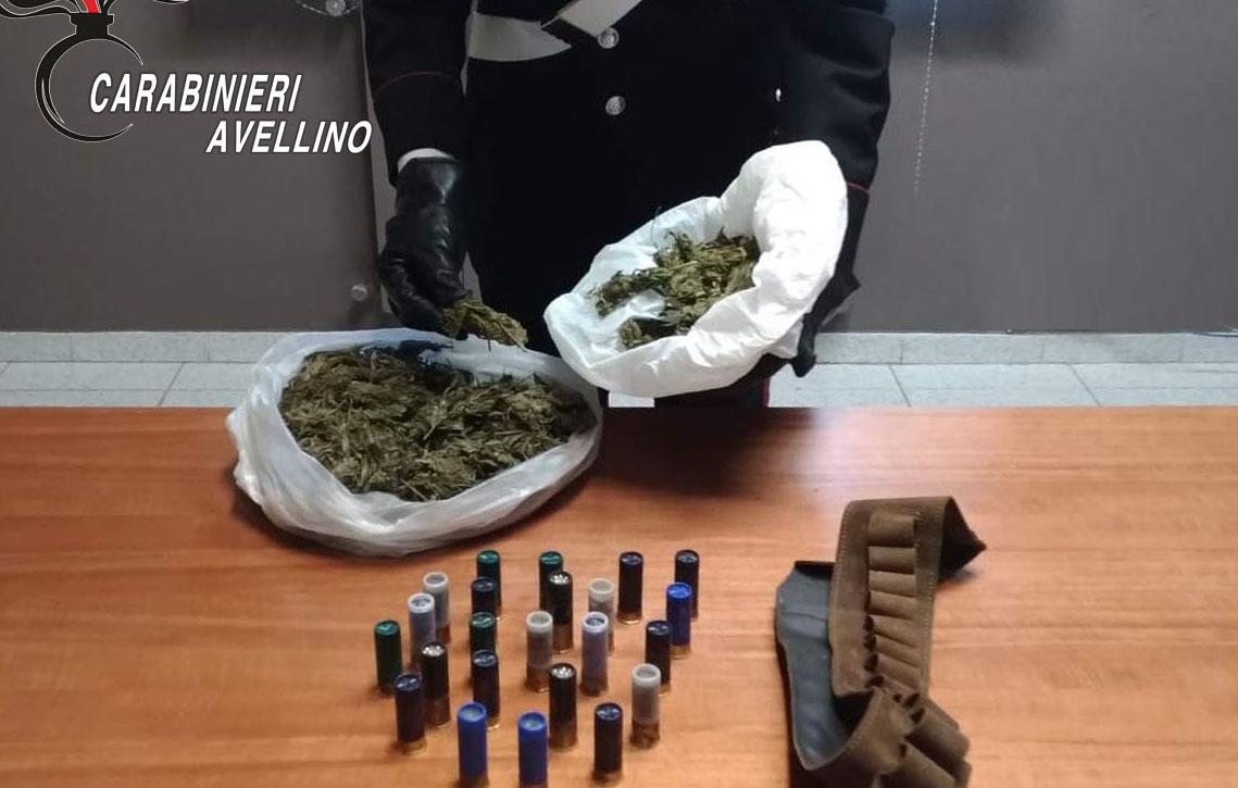 Volturara Irpina: sequestrati 400 grammi di marijuana, 38enne arrestato