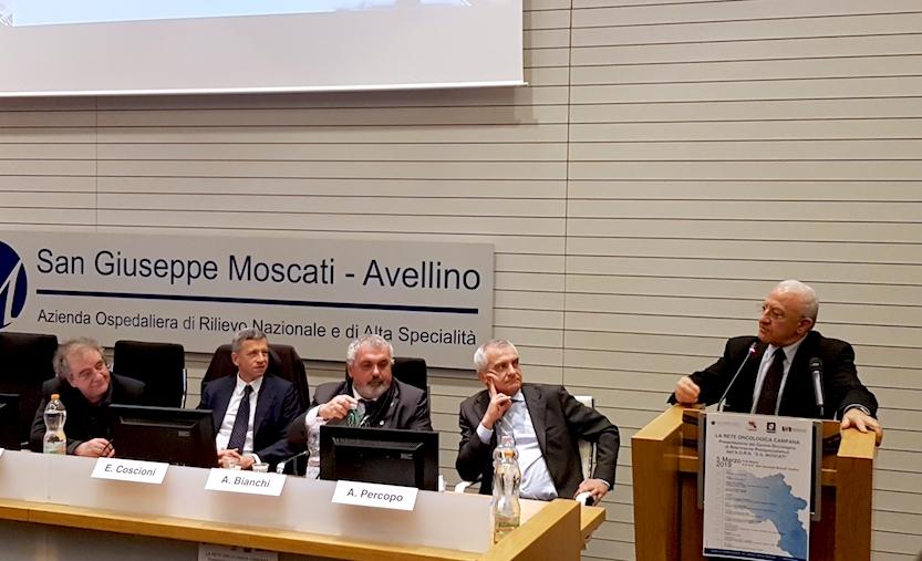 De Luca al Moscati: 'Salvini racconta stupidaggini, il Sud sarà penalizzato'