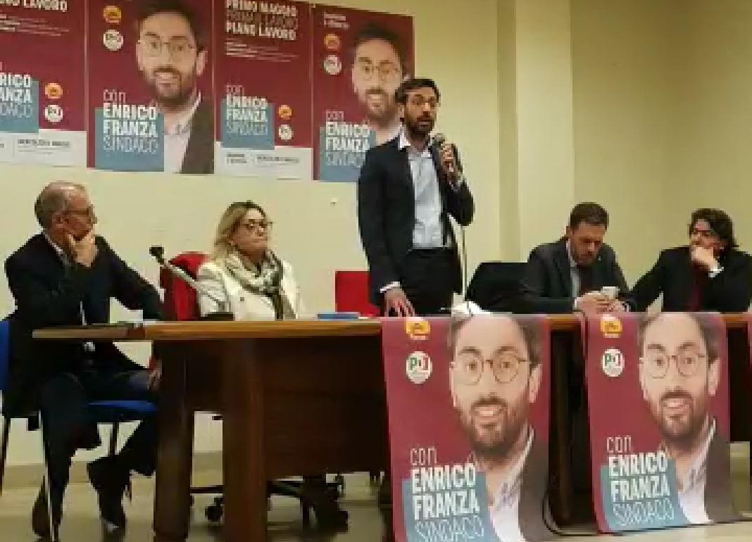 Ariano Irpino: la sfida di Franza, centrosinistra unito
