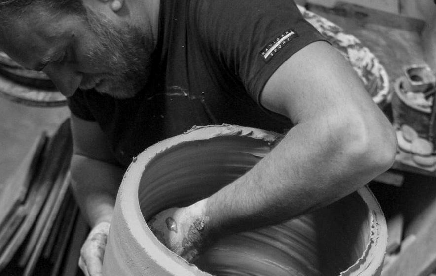 Fornaci Brancaterra s'Infiamma, a Carife ceramisti e scultori