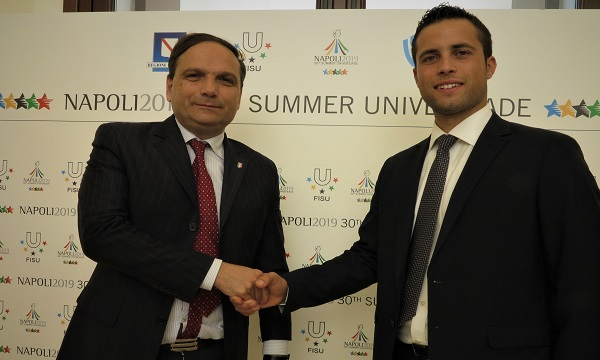 L'Universiade nelle province campane, accordo con il Forum dei Giovani