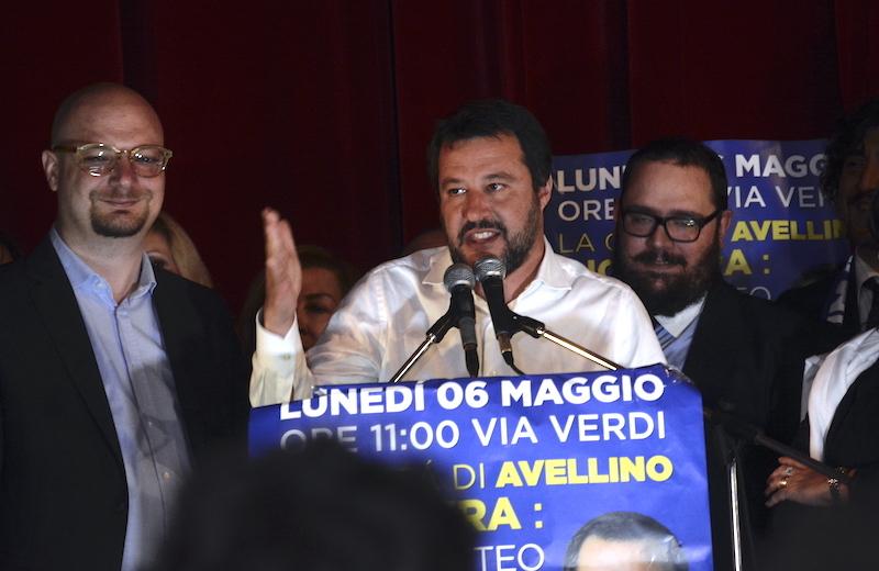 Salvini: 'Se volete il vecchio, andate a Nusco'
