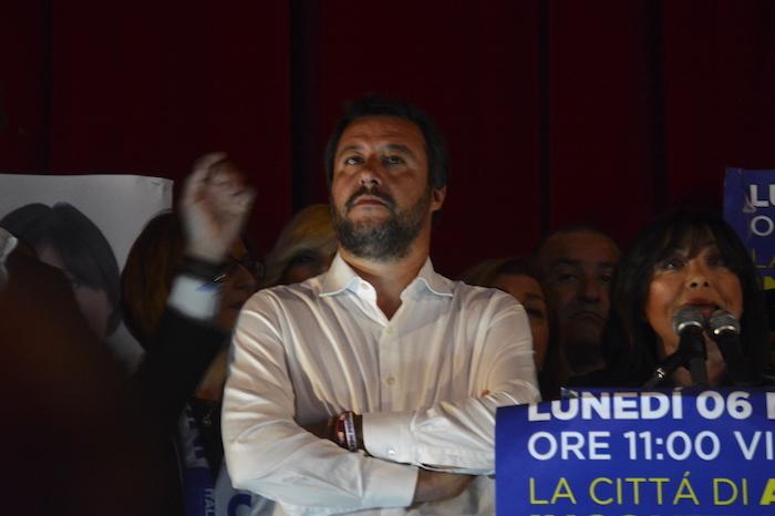 San Martino Valle Caudina, Salvini ringrazia il parroco