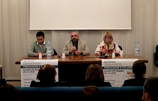Montella, D'Amelio con Buonopane: 'Sfida importante per l'Alta Irpinia'