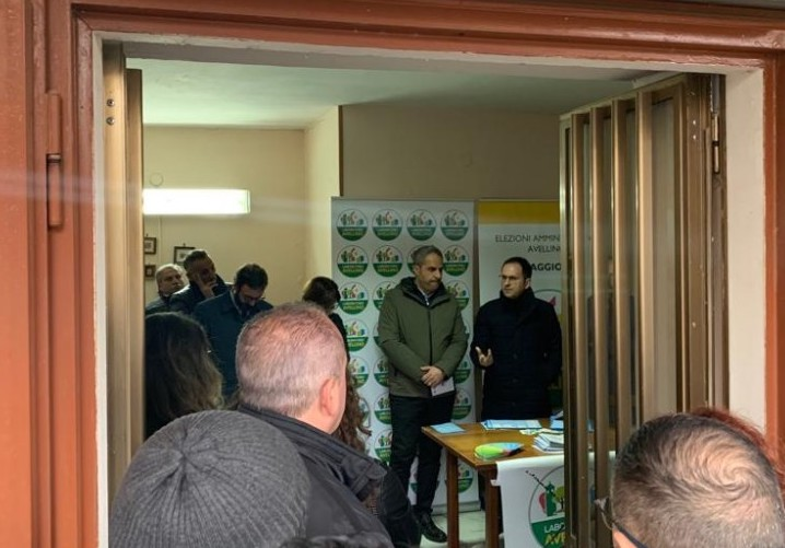 Periferie, Petracca ad Avellino per la candidatura di Fernando Romano