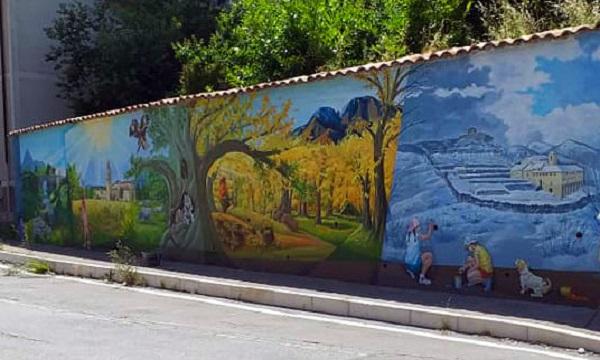 Murales a Montella, l'ex sindaco: 'Abbiamo voluto lasciare un segno'