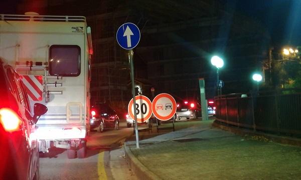 Odissea Ofantina, a Parolise ora c'è anche il semaforo
