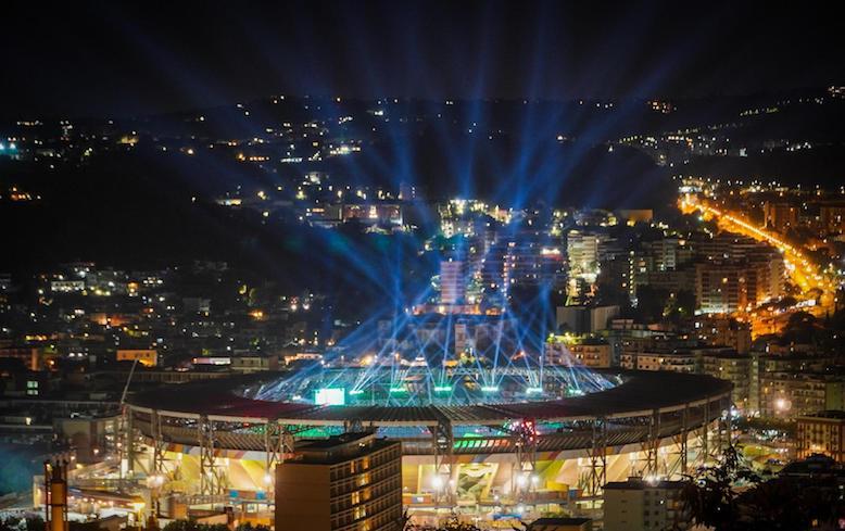 Universiade, spettacolo al San Paolo