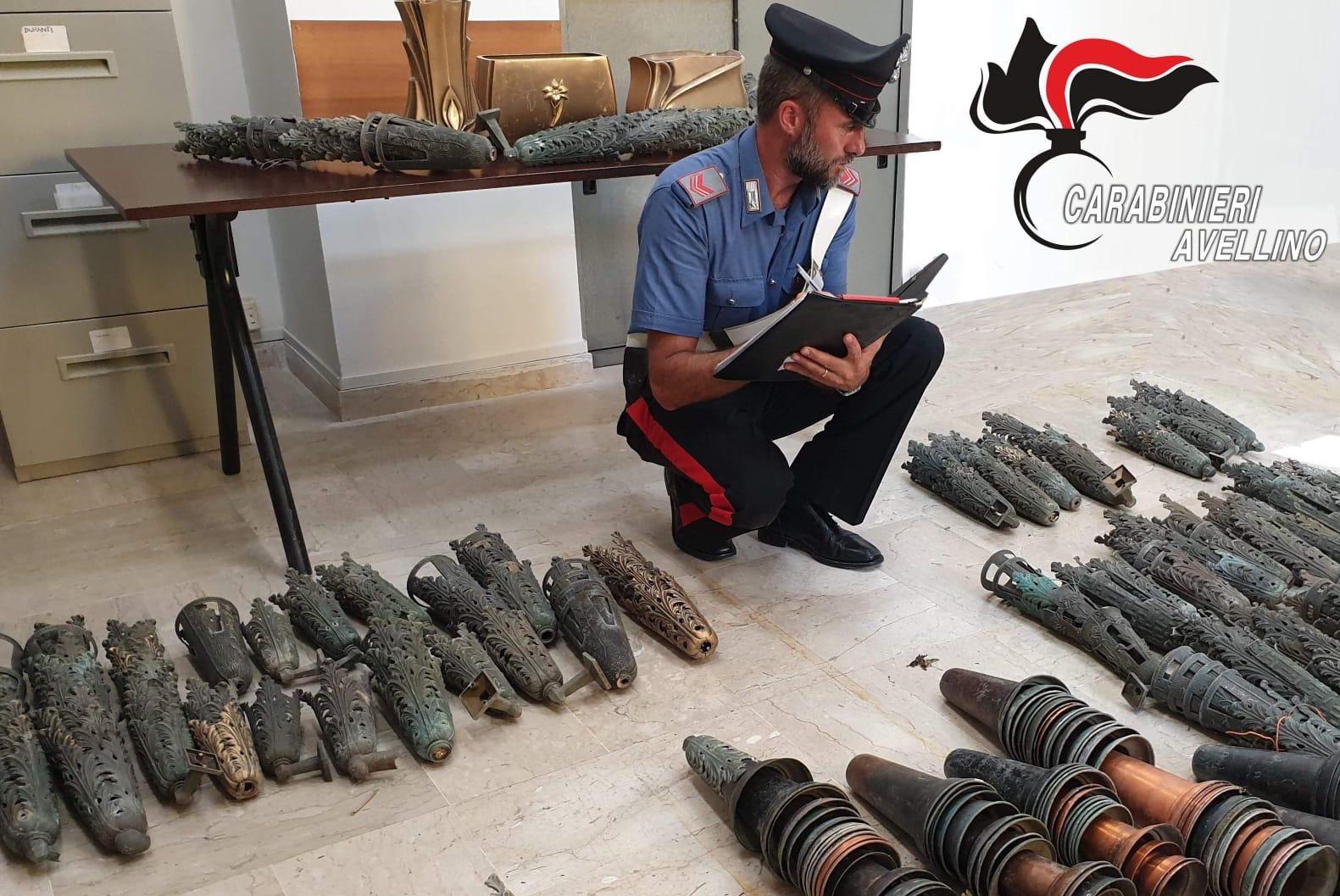 Avellino: maxi-furto al cimitero, in manette 50enne