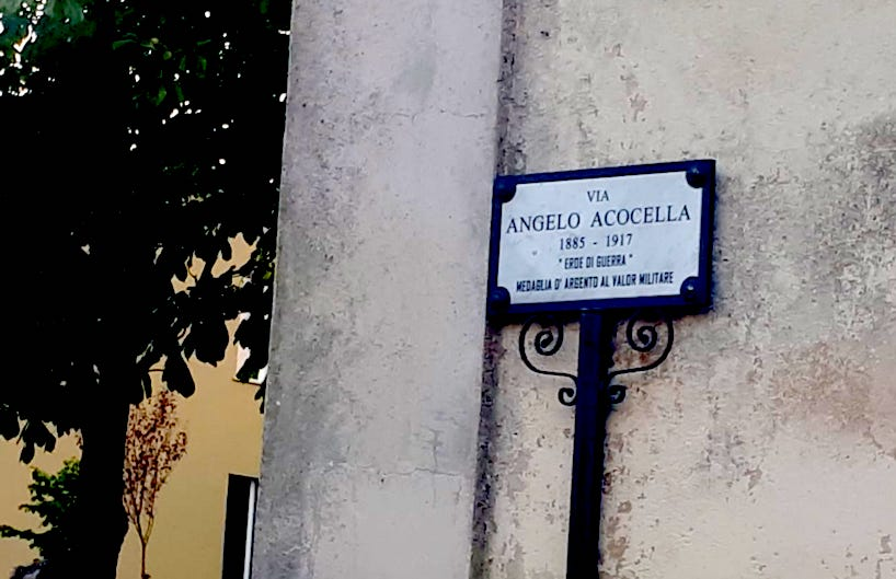 Andretta: una strada per Angelo Acocella, eroe di guerra