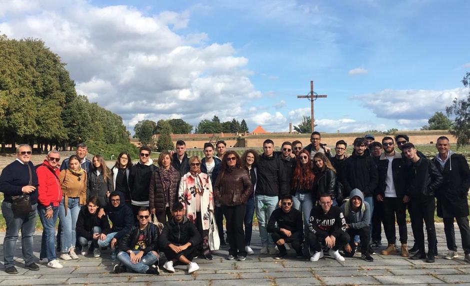 Terezin, gli studenti di Montella in visita al lager