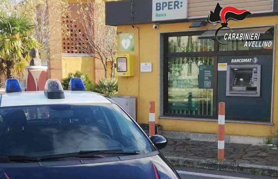 Conza: tentano assalto al bancomat, ladri in fuga