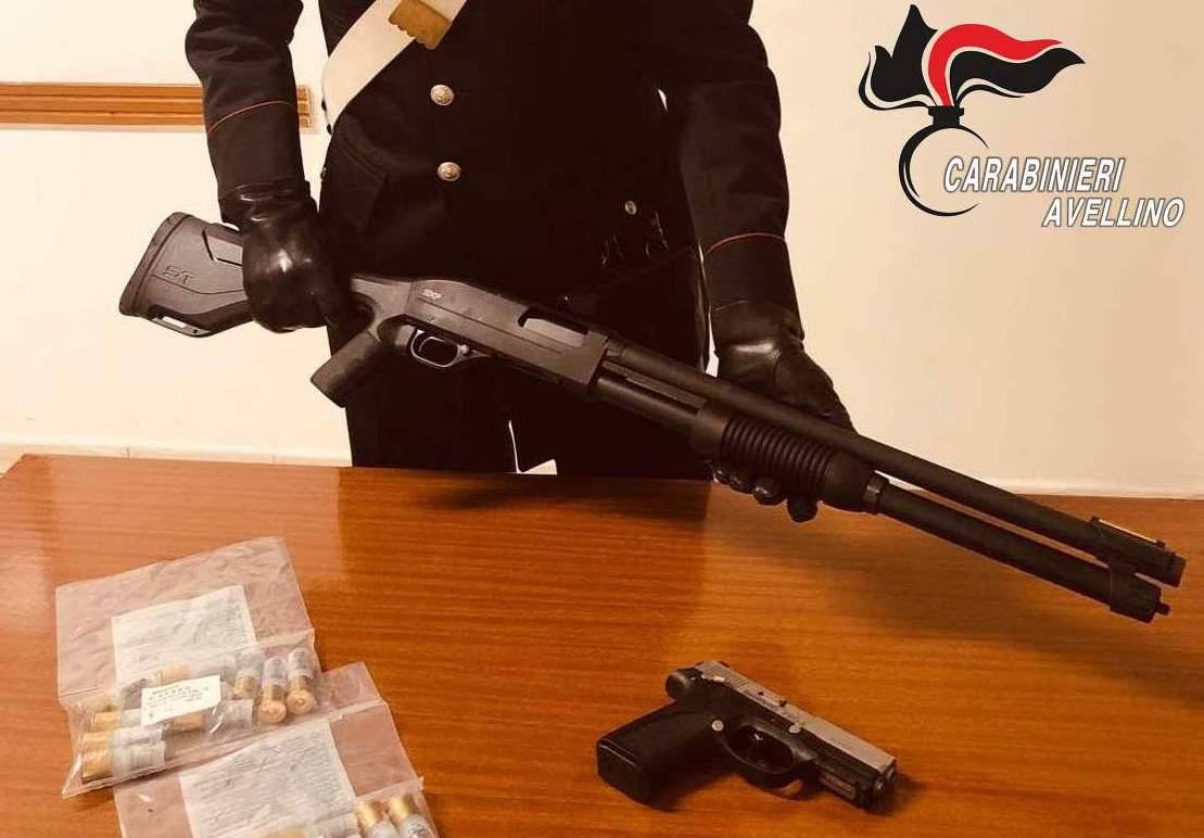 Grottaminarda: spara colpi di fucile e posta il video, denunciato dai carabinieri