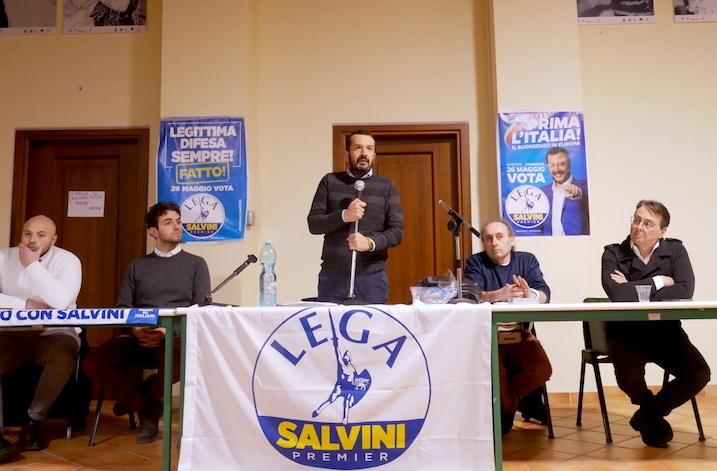Cantiere Lega a Calitri, il Carroccio verso le regionali della Campania