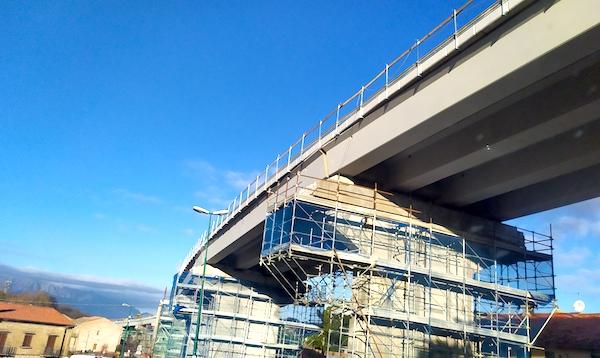 Parolise: ancora lavori sul viadotto, ma il 29 riapre