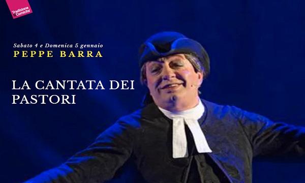 Peppe Barra e la Cantata dei pastori al Teatro Gesualdo
