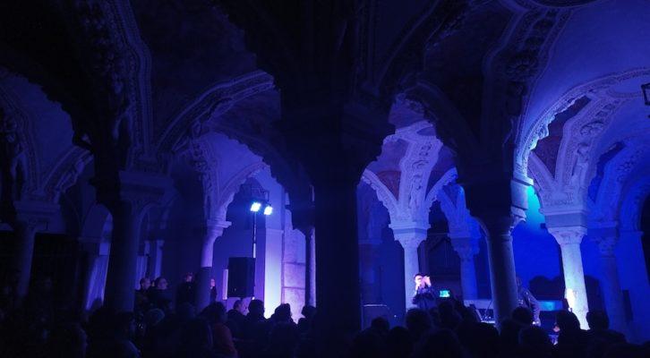 Garbo ad Avellino, la new wave in cripta è poesia