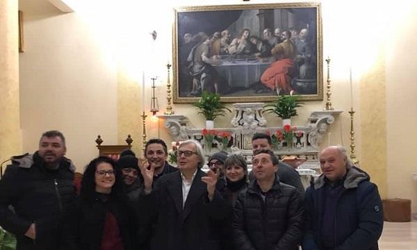 Vittorio Sgarbi a Serino, alla scoperta dell'arte e delle frazioni