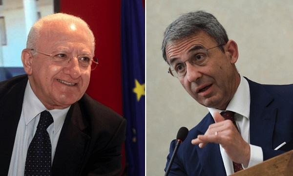 Regionali: il Pd campano insiste con De Luca, il M5s con Costa