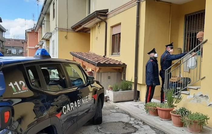 Carabinieri in azione (di solidarietà) a Grottaminarda: spesa per una 80enne sola