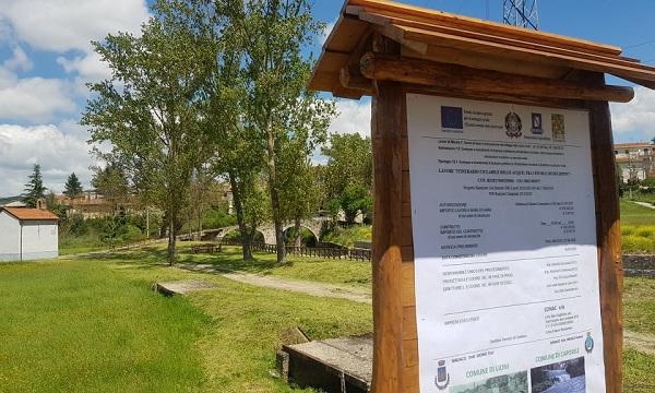 Ciclovia Lioni-Caposele, parte il cantiere: 'Ambiente e borghi il nostro futuro'