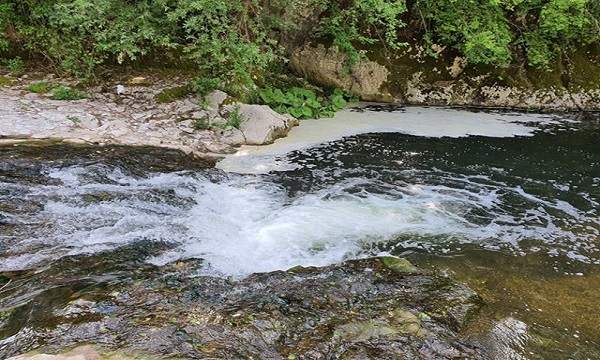 Castelfranci: schiuma nel Calore, allertata l'Arpac