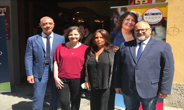 Regionali, il M5S presenta i candidati in Irpinia