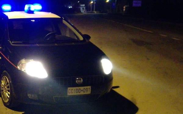 Castelfranci: sorpresi di notte tra le villette, intervengono i carabinieri