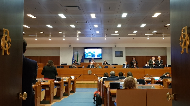 """Consiglio regionale ultima seduta, D'Amelio: """"Grazie a tutte le forze politiche"""""""