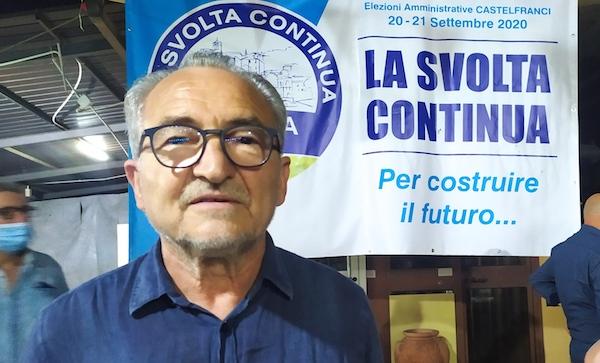 Cresta cala il tris d'assi e resta sindaco di Castelfranci
