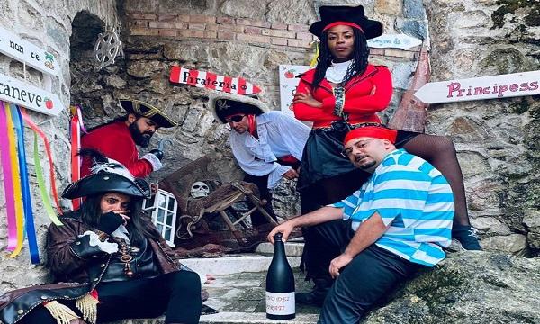 Ferragosto a Quaglietta con Jack Sparrow e gli altri