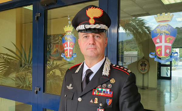 Luigi Bramati, il nuovo Comandante provinciale dei Carabinieri di Avellino