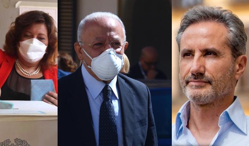 Primi dati in Campania, Vincenzo De Luca stravince la 'bella' con Caldoro