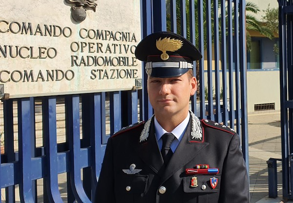 Carabinieri, Fabio Iapichino è il nuovo comandante della Compagnia di Avellino