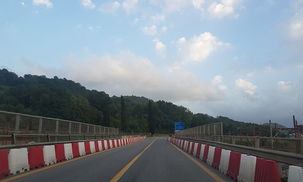 Ofantina, lavori al viadotto: da domani nuovo percorso alternativo