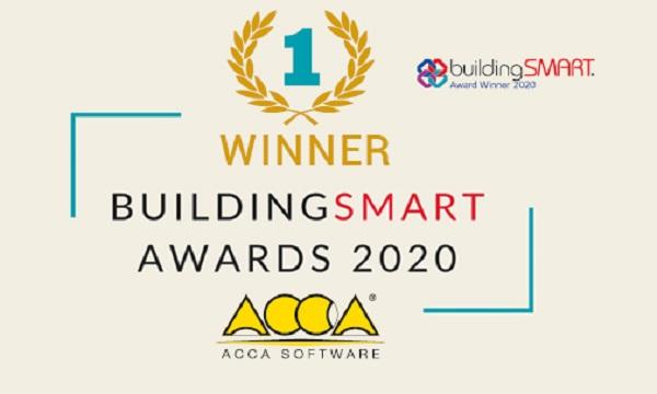 ACCA Software vince il buildingSMART International Awards 2020