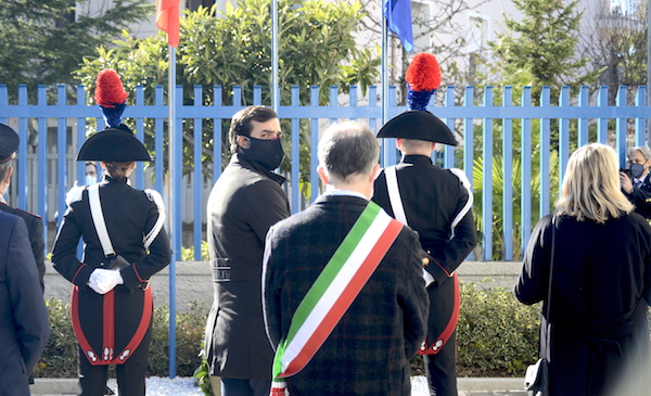Sant'Angelo dei Lombardi: cittadinanza onoraria all'Arma dei Carabinieri
