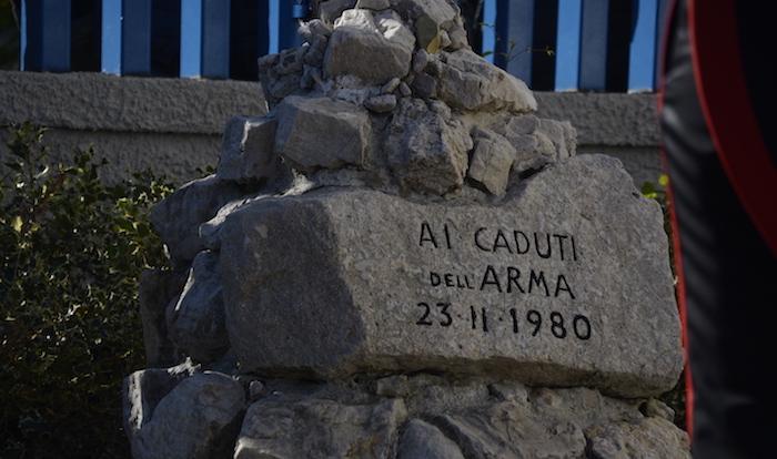 Terremoto Irpinia, l'Arma ricorda. La vedova Pecora: 'Ogni giorno è il 23 novembre'