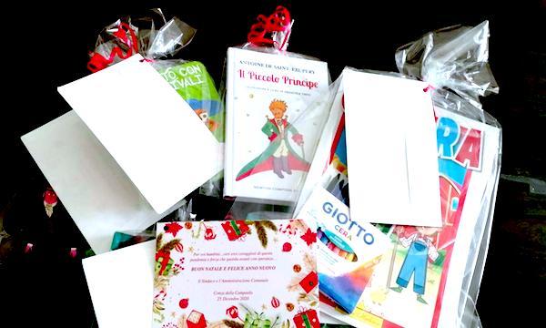 'Un libro per ogni bambino', l'iniziativa a Conza della Campania